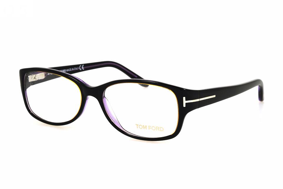 Tom Ford FT5143 005 schwarz glanz violett