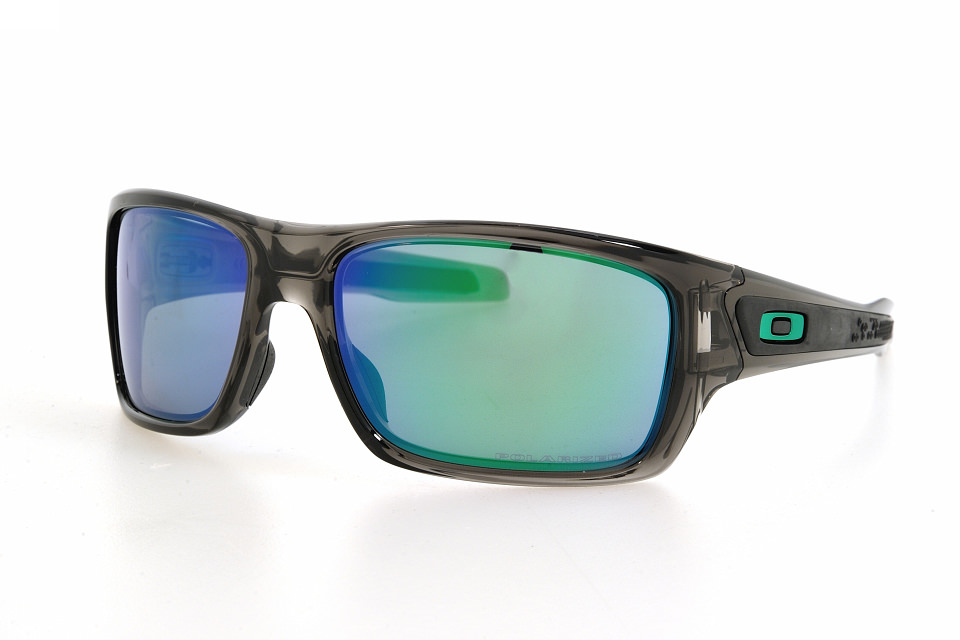 e68a6ad2d7 Oakley 9263 Turbine 09 grey smoke-jade iridium polarized