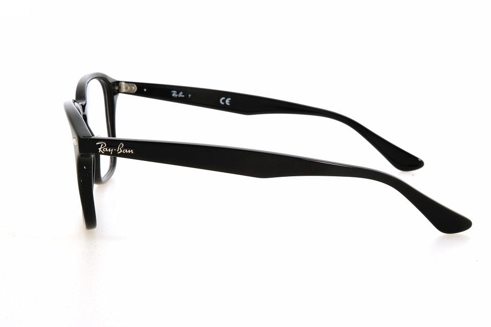 Ray Ban RX 5352 2000 shiny black