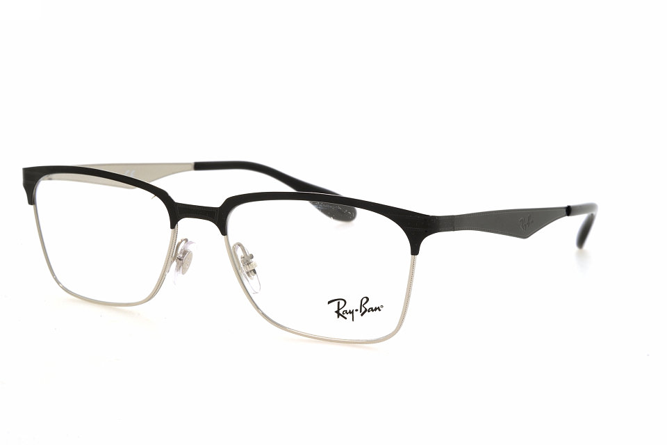617b2785eb9 Ray Ban RX 6344 2861 top black on silver