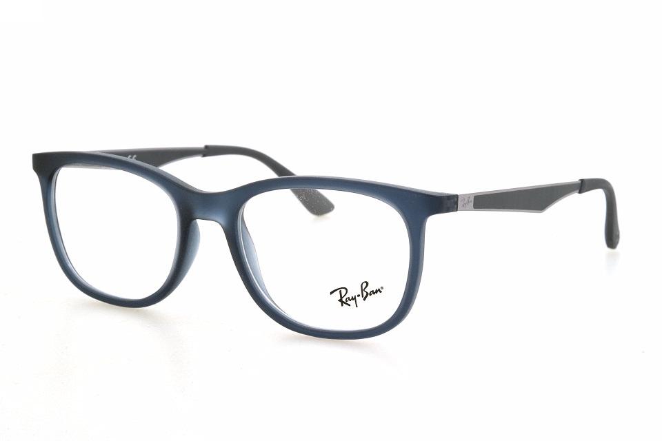7a31e2e3f0d Ray Ban RX7078 5679 matte transparent blue
