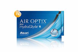 Set 2x Air Optix HydraGlyde  6-Pack