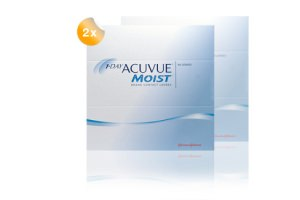 Set 2x 1 Day Acuvue moist 90er-Pack