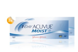 Set 2x 1Day Acuvue moist 30-Pack
