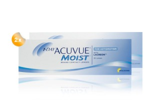 Set 2x 1 Day Acuvue moist for astigmatism 30-Pack