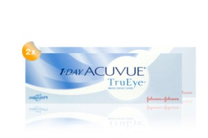 Set 2x 1Day Acuvue True Eye 30-Pack