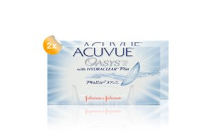 Set 2x Acuvue Oasys with Hydraclear