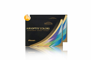 Set 2x Air Optix Colors 2-Pack