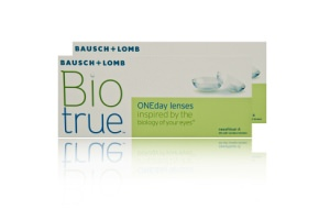 Set 2x Biotrue Oneday Lenses 30-Pack