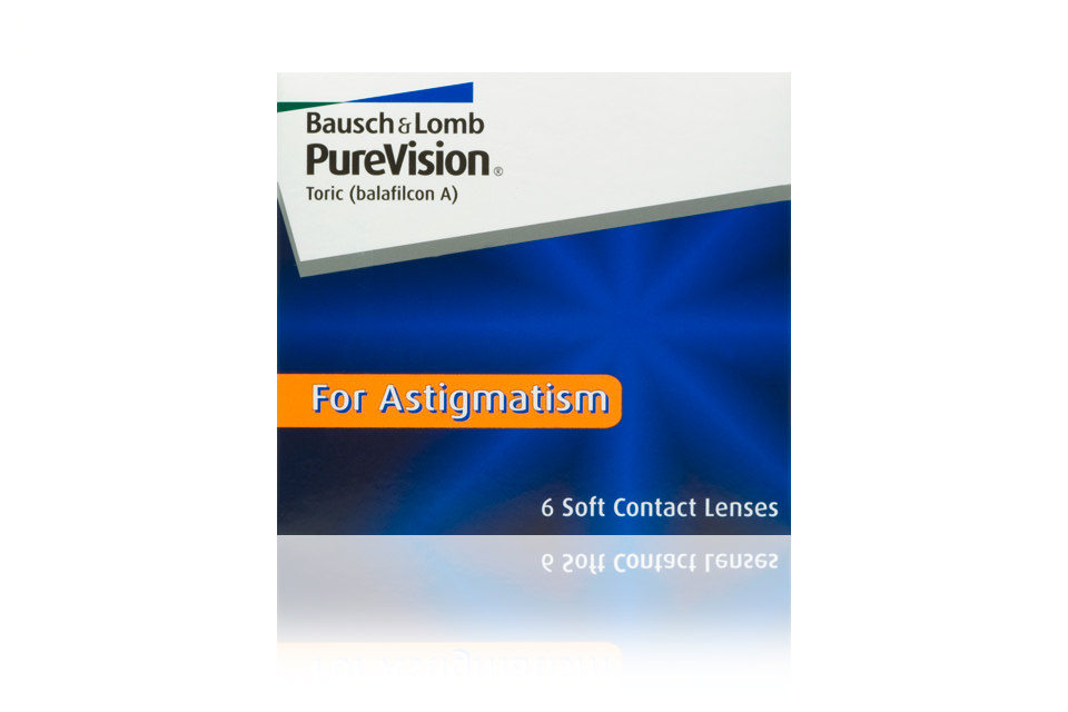bausch lomb purevision toric 6 pack kontaktlinse. Black Bedroom Furniture Sets. Home Design Ideas