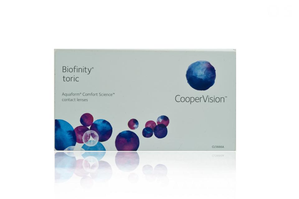 cooper vision biofinity toric 6 pack kontaktlinse. Black Bedroom Furniture Sets. Home Design Ideas