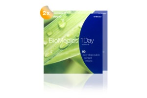 Set 2x Biomedics 1 Day Extra 90-Pack