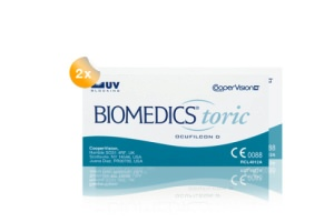Set 2x Biomedics Toric 6-Pack