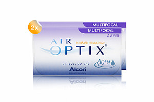 Set 2x Air Optix Aqua Multifocal 6-Pack