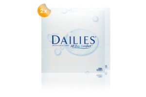Set 2x Focus Dailies All Day Comfort 90-Pack
