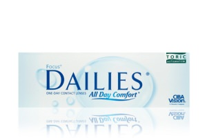 Focus Dailies All Day Comfort Toric 30-Pack