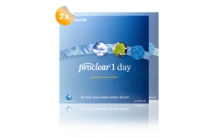 Set 2x Proclear 1 Day 90-Pack