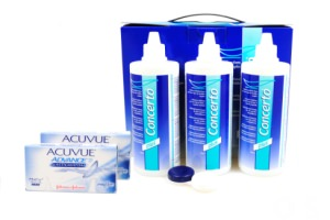 2x6 Acuvue Advance for Astigmatism & Concerto 3x360 ml