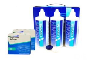 Set 2x Soflens 38 & Concerto 3x360 ml