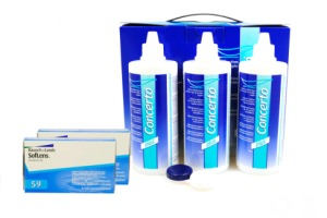 Set 2x Soflens 59 & Concerto 3x360 ml