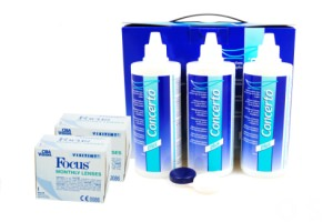 Set 2x Focus Visitint Monthly & Concerto 3x360 ml