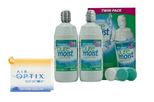 Set 2x Air Optix Night & Optifree Puremoist 2x360ml