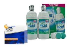 Set 2x Pure Vision Toric & Optifree Puremoist 2x300ml