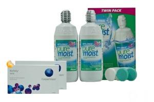 Set 2x Biofinity Toric 6Pack  & Opti-Free puremoist 2x300ml Twinpack