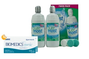 Set 2x Biomedics Toric & Optifree Puremoist 2x300ml