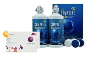 Set 2x Avaira Toric 6-Pack & Complete 2x300 ml