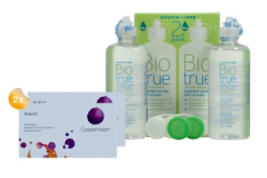 Set 2x Avaira 6-Pack & Biotrue  2x360 ml