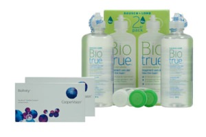 Set 2x Biofinity & Biotrue  2x360 ml