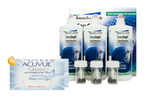 Set 2x Acuvue Oasys with Hydraclear & EasySept Multipack