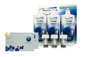 Set 2x Biofinity Toric 6-Pack & Easysept Multipack