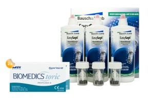 Set 2x Biomedics Toric & Easysept Multipack