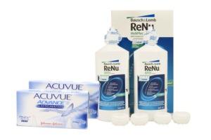 Set 2x Acuvue Advance for Astigmatism & Renu Multiplus Twinbox