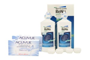 Set Renu Multiplus Twinbox & Acuvue Oasys with Hydraclear