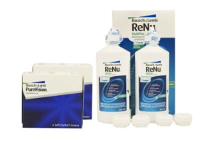 Set 2x Pure Vision & Renu Multiplus Twinpack