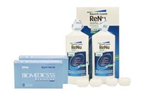 Set 2x Biomedics & Renu Multiplus Twinbox