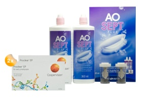 Set 2x Proclear EP & Aosept 2x360ml