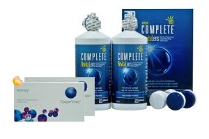 Set 2x Biofinity & Complete 2x300 ml