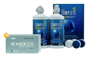 Set 2x Biomedics & Complete 2x300 ml