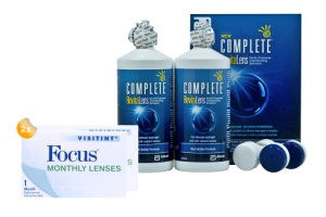Set 2x Focus Visitint Monthly & Complete 2x300 ml