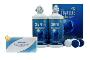 Set 2x Freshlook Colors & Complete 2x300 ml