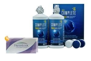 Set 2x Freshlook Colorblends & Complete 2x300 ml