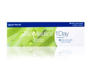BioMedics 1 Day Toric 30-Pack