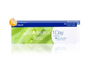 Set 2x Biomedics 1 Day Toric 30-Pack